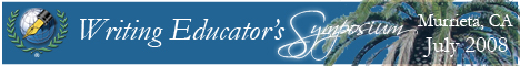 Writing Educator\'s Symposium Banner